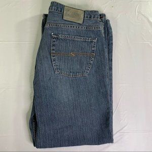 Silver Men's Relaxed Fit Jeans 33x32